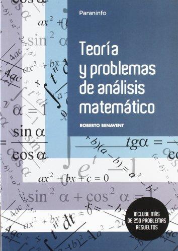 9788497320627: Teoría y problemas de análisis matemático (Matemáticas)