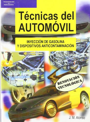 9788497321044: Técnicas del automóvil. Inyección de gasolina y dispositivos anticontaminación