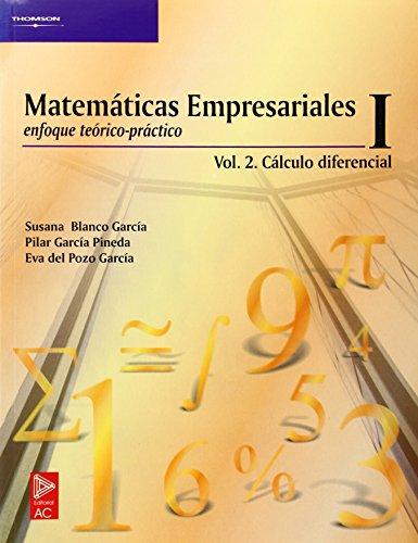 9788497321723: Matemáticas empresariales i. Vo.II