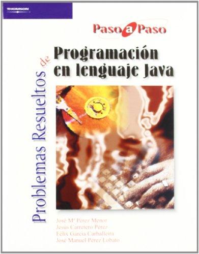 9788497321761: Problemas Resueltos de Programacion En Java (Spanish Edition)