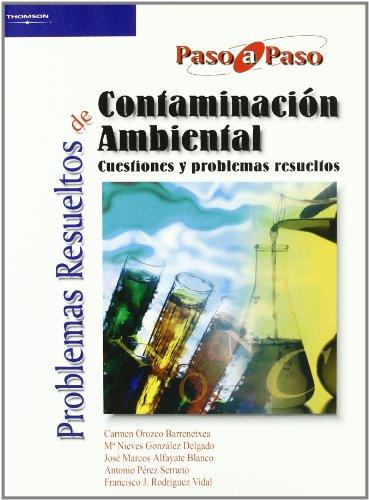 PROBLEMAS RESUELTOS DE CONTAMINACIÓN AMBIENTAL: JOSÉ MARCOS ALFAYATE