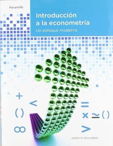9788497322683: Introducción a la econometría. Un enfoque moderno