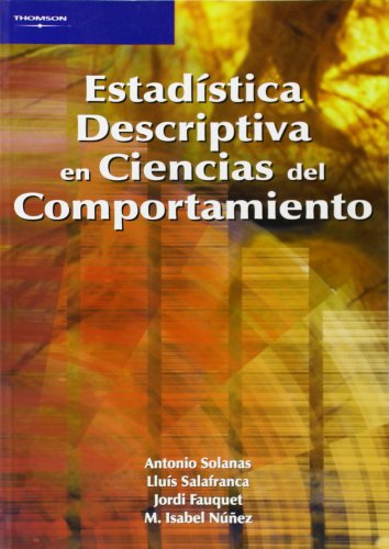 9788497322782: Estadística Descriptiva En Ciencias Del Comportamiento
