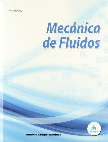 MECANICA DE FLUIDOS: ANTONIO CRESPO MARTINEZ