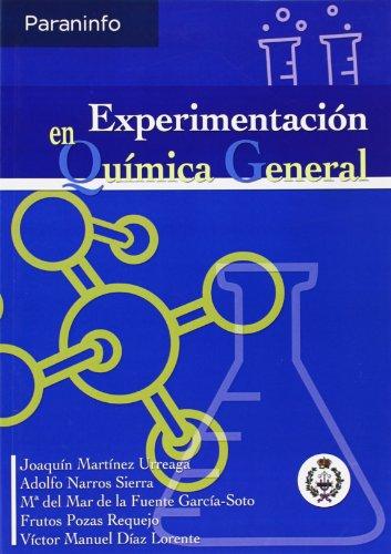 Experimentacion En Quimica General (Paperback): Joaquin Martinez Urreaga,