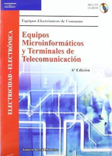 9788497324762: Equipos Microinformaticos y Terminales de Telecomunicacion: Electricidad-Electronica with CDROM (Spanish Edition)