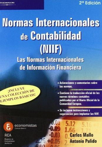 9788497324847: Normas internacionales de contabilidad (NIIF)