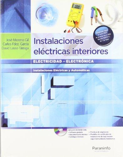 9788497325813: Instalaciones eléctricas interiores, 3ª ed