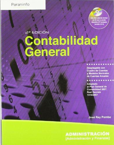 Contabilidad general : administración y finanzas (Paperback): José Rey Pombo