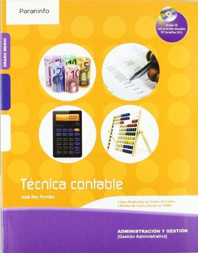 Técnica contable (Paperback): José Rey Pombo