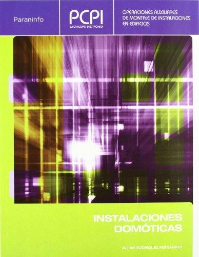 9788497328104: PCPI. Instalaciones domóticas