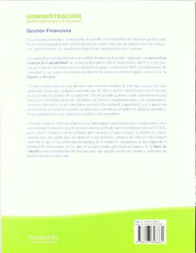 9788497328661: Gestión financiera