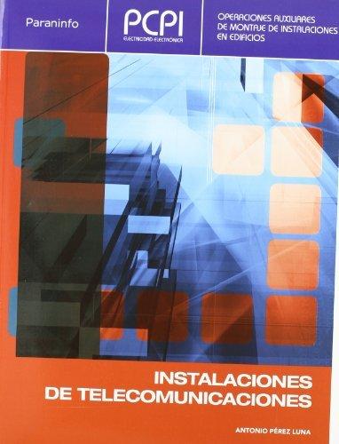 9788497328685: PCPI. Instalaciones de telecomunicaciones