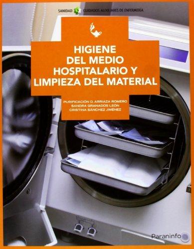 9788497329309: Higiene del medio hospitalario y limpieza de material