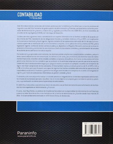 CONTABILIDAD Y FISCALIDAD GS.Loe ED.13 Paraninfo: REY POMBO, JOSE