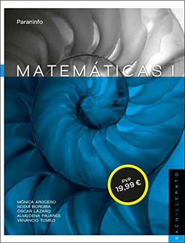 9788497329781: Matemáticas I. 1º Bachillerato