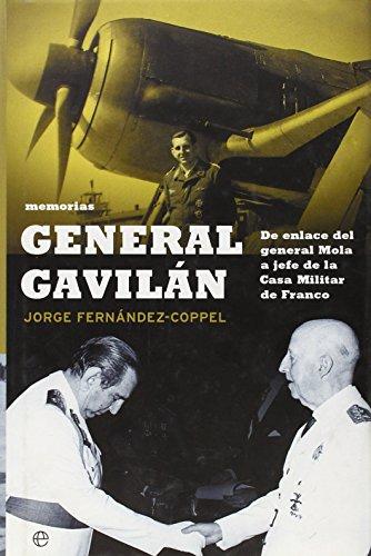 9788497342858: General gavilan - memorias -