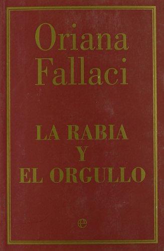 9788497348843: Rabia y Orgullo (r)