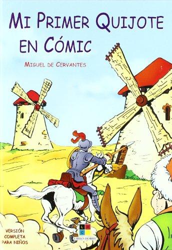 9788497362894: Mi primer quijote en comic (Aventuras Don Quijote)