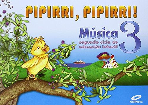 9788497371308: E.I.-PIPIRRI, PIPIRRI (G). MUSICA 3 (5 ANOS) (2010)