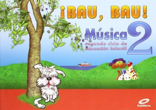 9788497371322: 4 Años - Musica - Bau, Bau