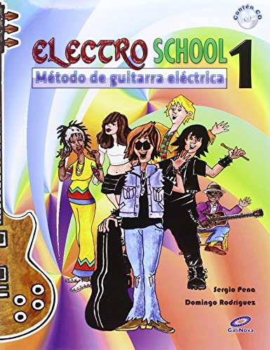 9788497371810: ELECTRO SCHOOL, 1 (INC.CD). METODO DE GUITARRA ELECTRICA