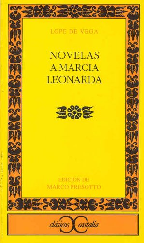 9788497402231: Novelas a Marcia leonarda (CLÁSICOS CASTALIA. C/C.)