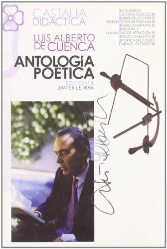 9788497402484: Ántología Poética (CASTALIA DIDÁCTICA. C/D.)