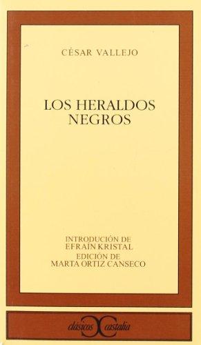 9788497402798: Los heraldos negros (CLÁSICOS CASTALIA. C/C.)