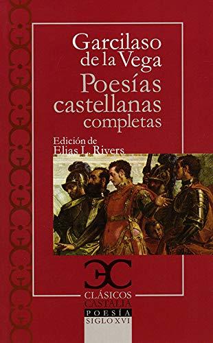 9788497403092: Poesías castellanas completas . (CLASICOS CASTALIA. C/C.)