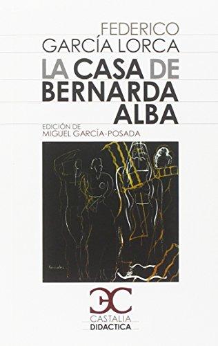 9788497403771: La casa de Bernarda Alba (Castalia Didactica)
