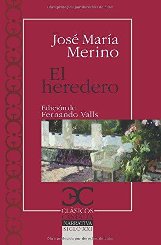 9788497403856: heredero, El (Clásicos Castalia. C/C.)