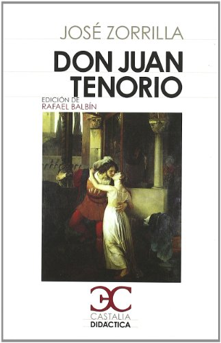 9788497404006: Don Juan Tenorio (CASTALIA DIDACTICA. C/D.)
