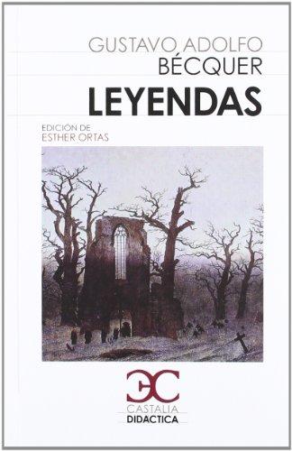 9788497405058: Leyendas . (CASTALIA DIDACTICA. C/D.)
