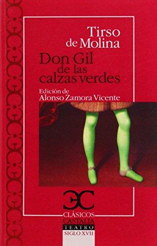 9788497406758: Don Gil de las calzas verdes (Clásicos Castalia)
