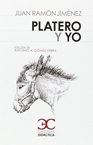 9788497407014: Platero y yo (CASTALIA DIDACTICA. C/D.)