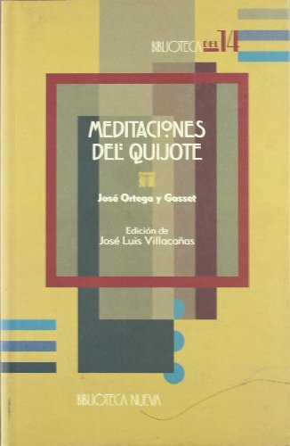 9788497420396: Meditaciones del Quijote (Biblioteca del 14)