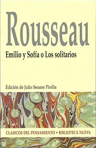 9788497420990: Emilio y Sofía o Los solitarios (CLÁSICOS DEL PENSAMIENTO)