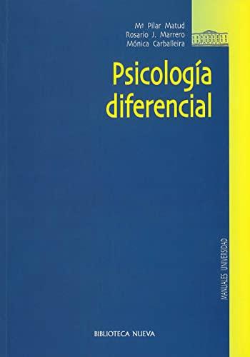 Psicología diferencial (Paperback): María Pilar .