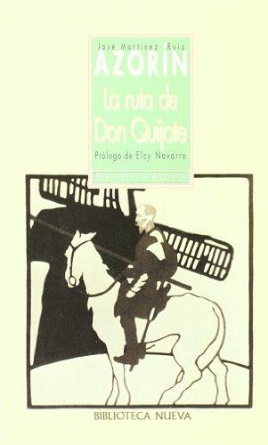 9788497423342: La ruta de don Quijote