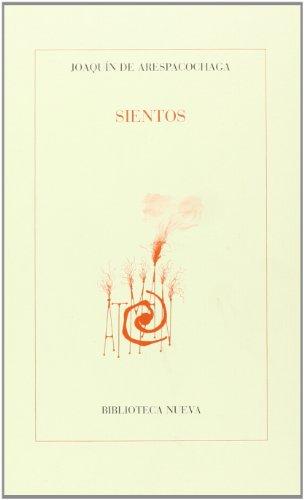 Sientos (Paperback): Joaquín de Arespacochaga