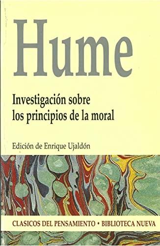 9788497426305: Investigacion sobre los principiosde la moral (Castillian Edition)