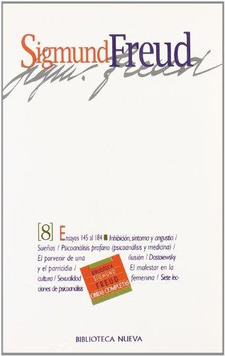 9788497426329: Freud - Obras Completas (VIII) (Biblioteca Sigmund Freud)
