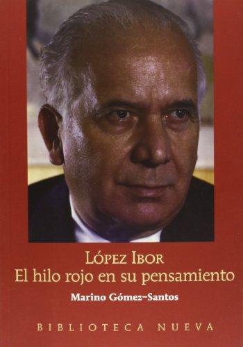 9788497426367: López Ibor. El hilo rojo en su pensamiento