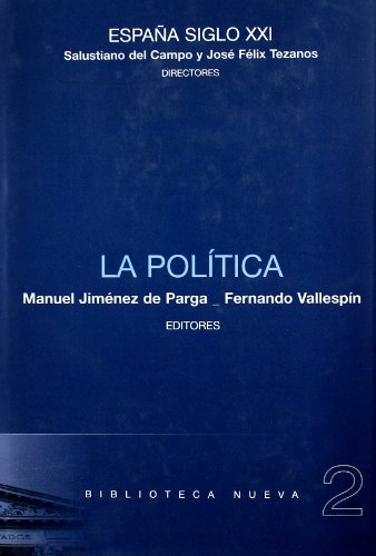 ESPAÑA SIGLO XXI: LA POLITICA: Manuel Jiménez de
