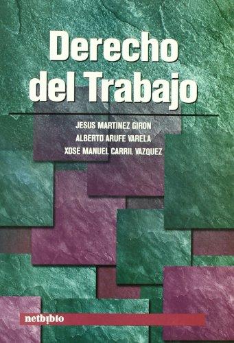 9788497450829: Derecho Del Trabajo