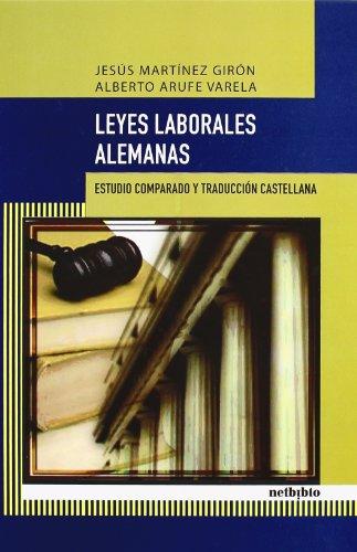9788497451666: Leyes Laborales Alemanas (Catálogo General)