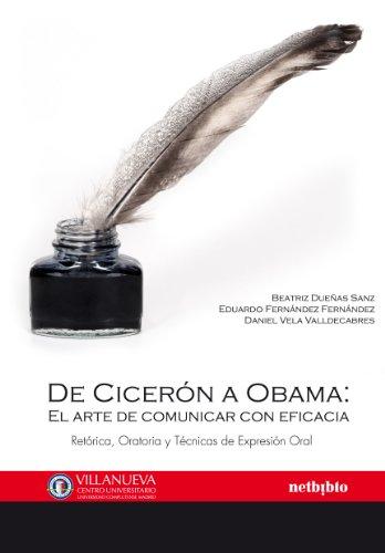 9788497454728: De Ciceron A Obama (Colección Villanueva Estudios de Comunicación)