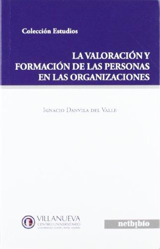 9788497455053: Valoracion Y Formacion De Las Per (COLECCIÓN ESTUDIOS)