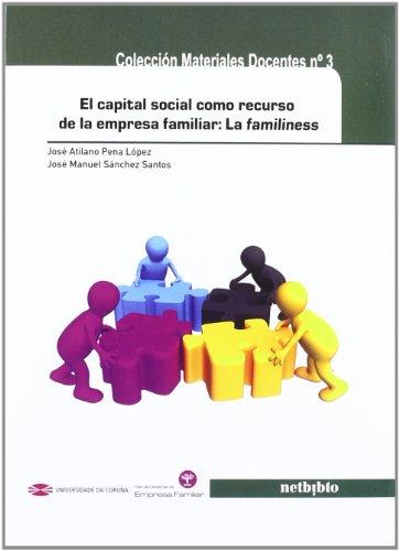9788497458801: El capital social como recurso de la empresa familiar